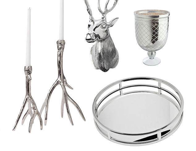 Instant Cool: Silver Accents & Décor at MYHABIT