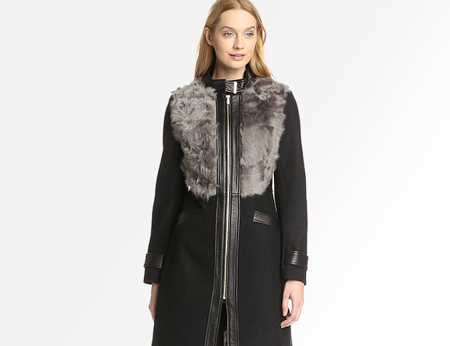 Luxe Trims: Coats & Jackets at MYHABIT