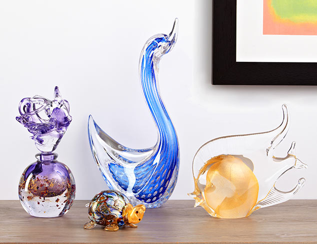 Murano Art Glass Feat. Mila Brown at MYHABIT