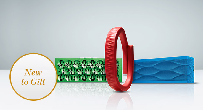 New to Gilt: Jawbone Bluetooth Speakers & Fitness Trackers at Gilt