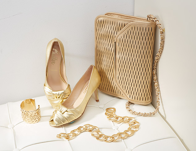 Party Accessories: Gleaming Gold at MYHABIT