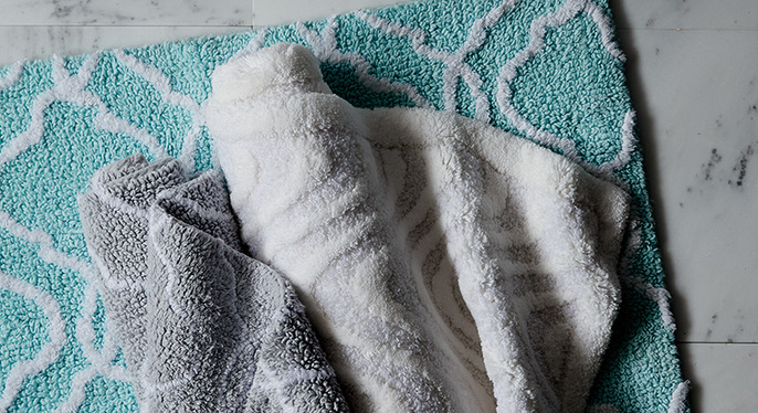 Plush Bath Rugs & More at Gilt