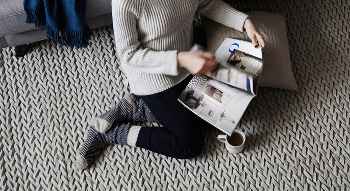 Rugs Inspired by Your Favorite Sweater at Gilt