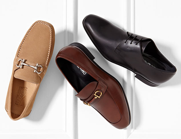 Salvatore Ferragamo Shoes & Accessories at MYHABIT