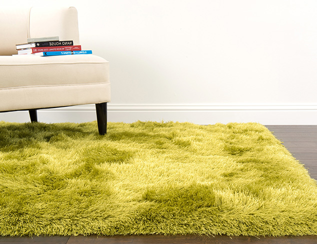 Shag Rugs & Pillows at MYHABIT