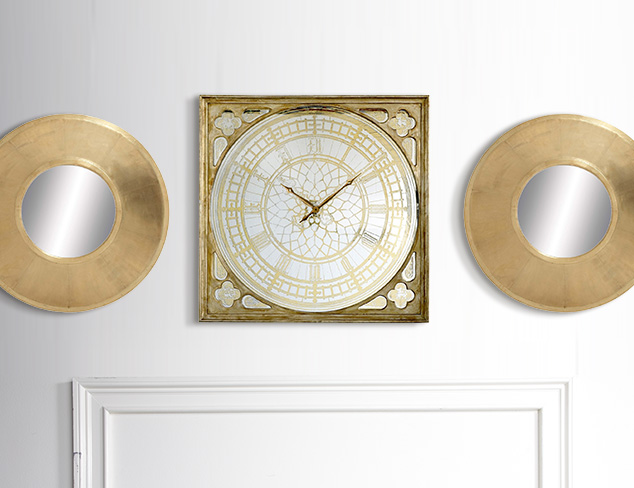 Stand Out: Striking Clocks & Wall Décor at MYHABIT