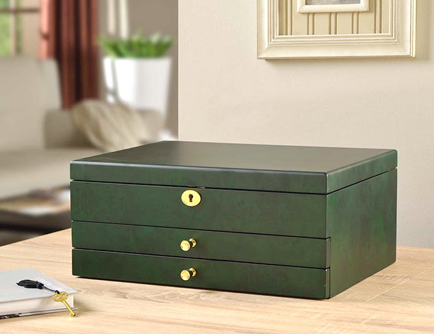 Stylish Storage: Jewelry Boxes, Cases & More at MYHABIT