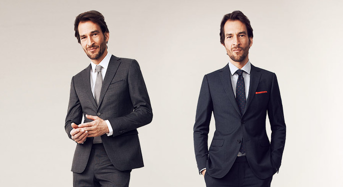 Suiting by Size at Gilt
