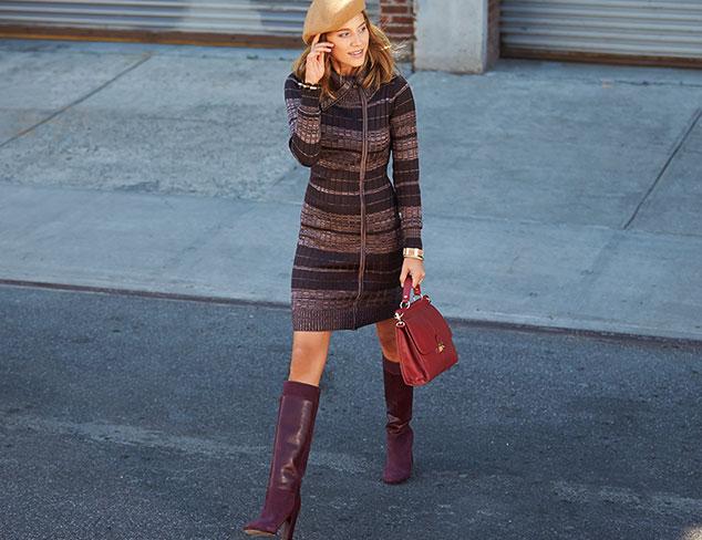 Sweater Weather: Dresses at MYHABIT
