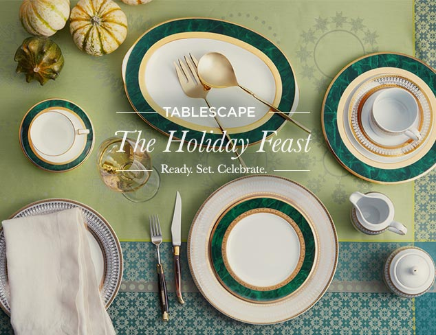 Tablescapes: The Holiday Feast at MYHABIT