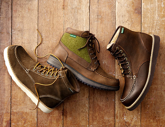 The Rugged Look: Boots at MYHABIT
