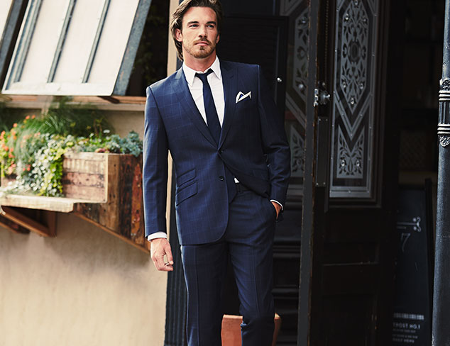 The Slim Fit Suit feat. English Laundry at MYHABIT