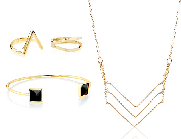 Trend to Try: Delicate Metals at MYHABIT