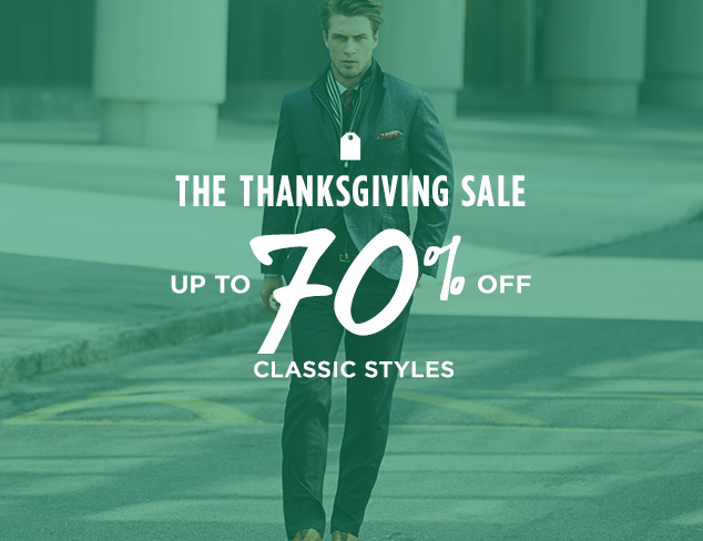 Up to 70% Off: Classic Styles at MYHABIT