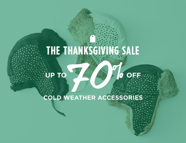 Up to 70% Off: Cold Weather Accessories at MYHABIT