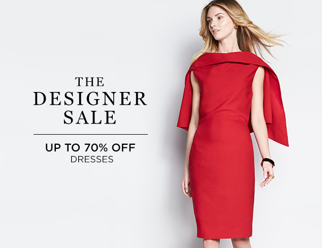 Up to 70% Off: Designer Dresses at MYHABIT