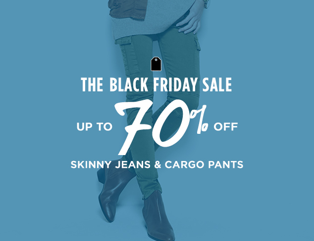 Up to 70% Off: Skinny Jeans & Cargo Pants at MYHABIT