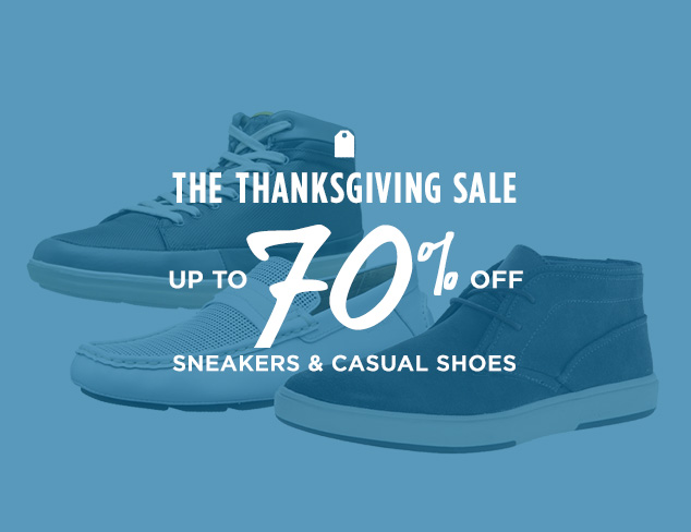 Up to 70% Off: Sneakers & Casual Shoes at MYHABIT
