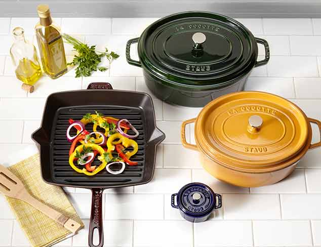 Up to 70% Off: Staub & Fontignac Cast Iron Cookware at MYHABIT