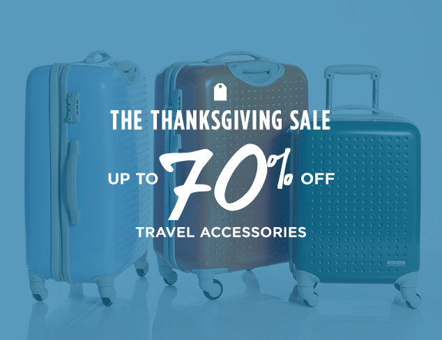 Up to 70% Off: Travel Accessories at MYHABIT