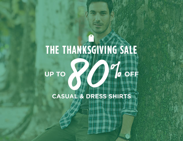 Up to 80% Off: Casual & Dress Shirts at MYHABIT
