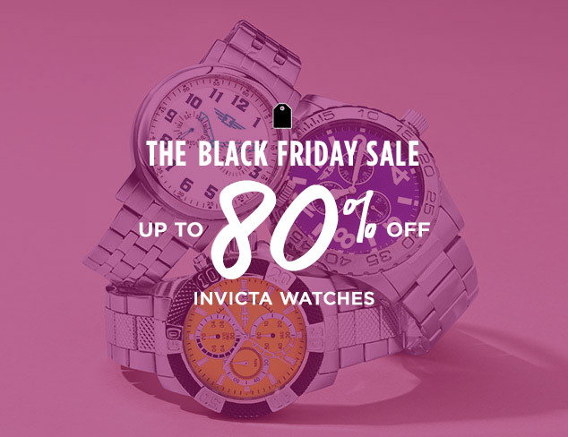 Up to 80% Off: Invicta Watches at MYHABIT