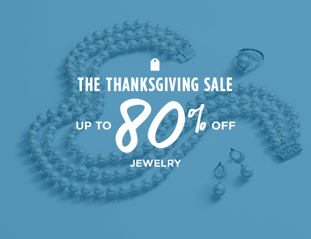 Up to 80% Off: Jewelry at MYHABIT