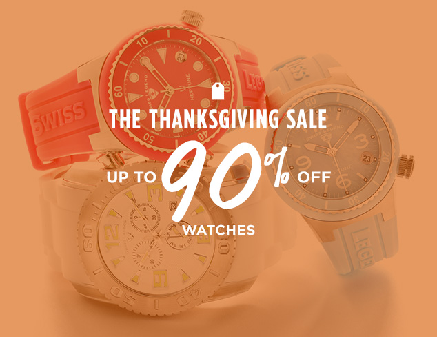 Up to 90% Off: Watches at MYHABIT