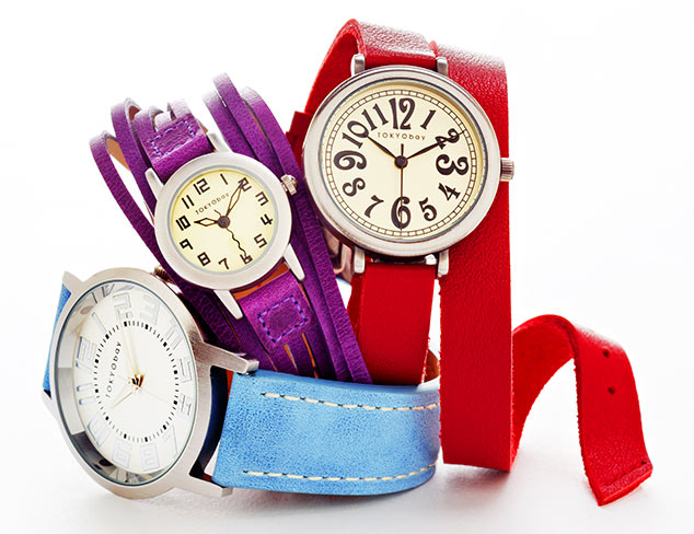 Watches feat. Ted Baker & TOKYObay at MYHABIT