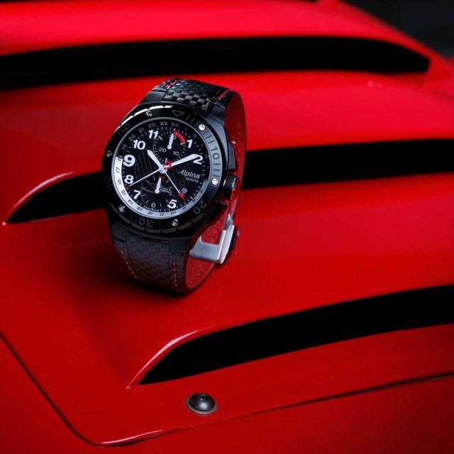 Alpina Racing 12 Hours of Sebring Automatic Chrono Watch AL-725LBR5FBAR6