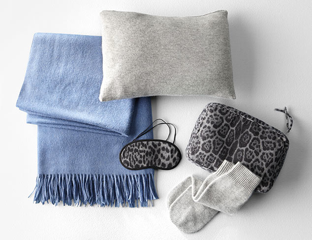 $55 & Up: Cashmere Throws & Sets at MYHABIT
