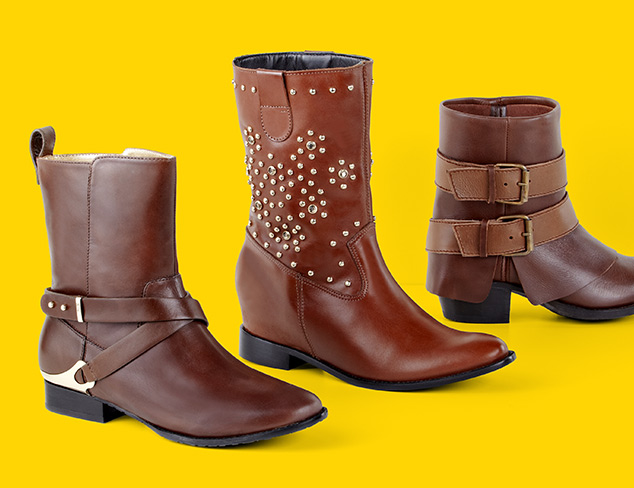 75% Off: Boots & Booties at MYHABIT