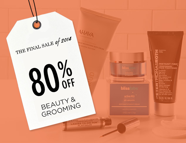 80% Off: Beauty & Grooming at MYHABIT