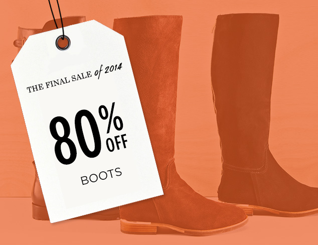 80% Off: Boots at MYHABIT
