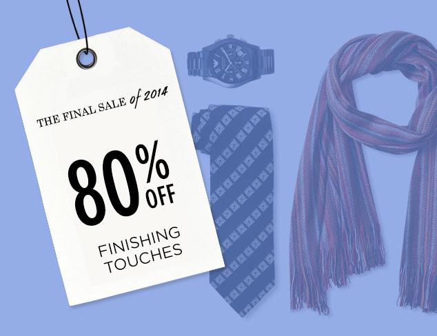 80% Off: Finishing Touches at MYHABIT