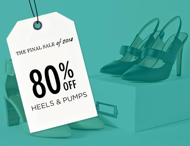 80% Off: Heels & Pumps at MYHABIT