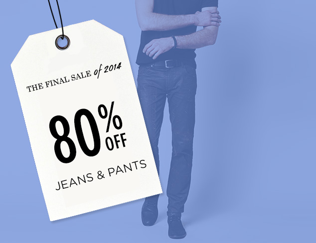 80% Off: Jeans & Pants at MYHABIT