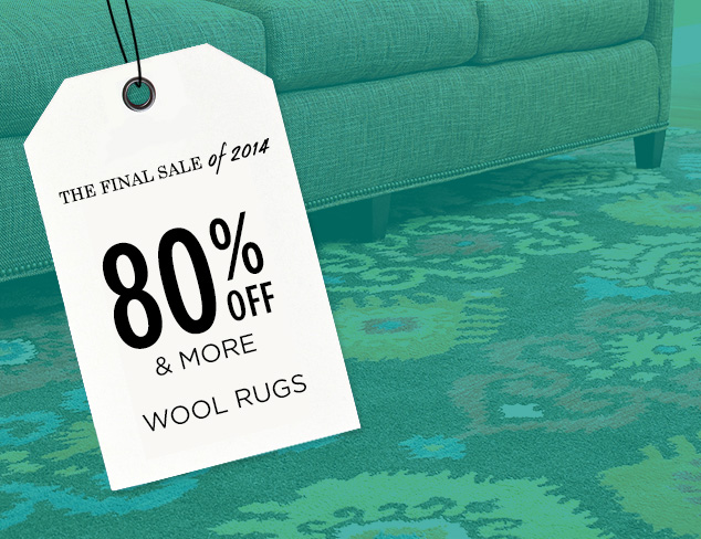 80% Off & More: Wool Rugs at MYHABIT