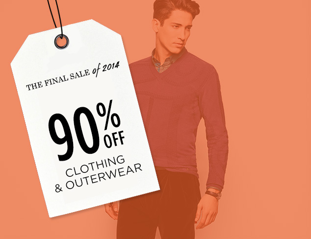 90% Off: Clothing & Outerwear at MYHABIT