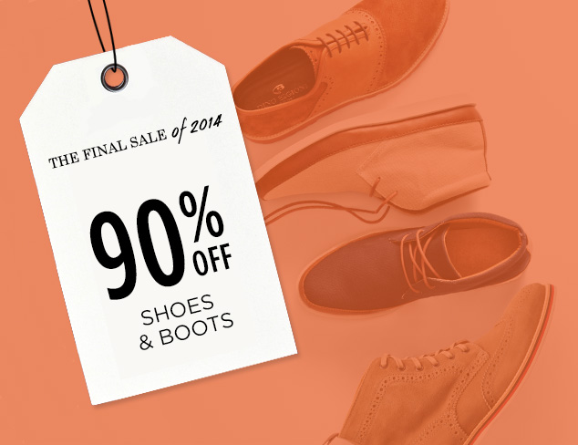 90% Off: Shoes & Boots at MYHABIT