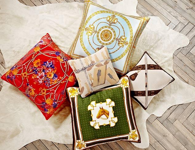ARCHIVE: Designer Scarf Pillows at MYHABIT