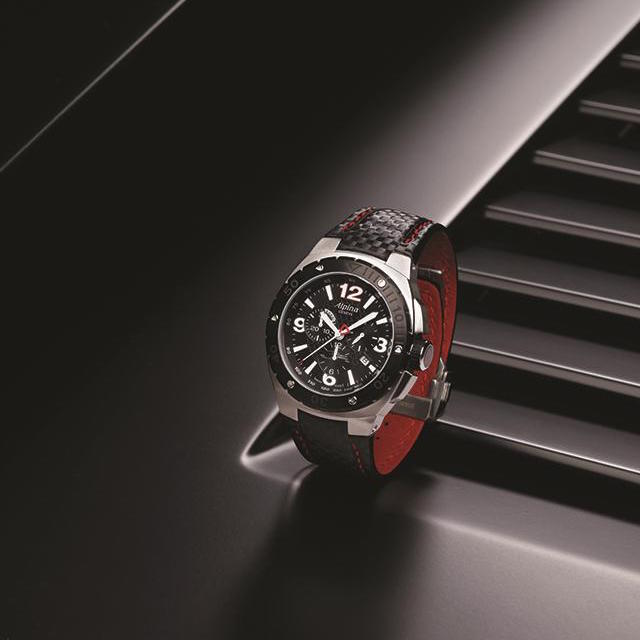 Alpina Racing 12 Hours of Sebring Automatic Chrono Watch AL-525BR5FBAES_1