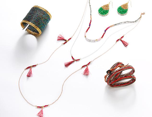 Beaded Jewelry: Leslie Danzis, Nakamol & More at MYHABIT