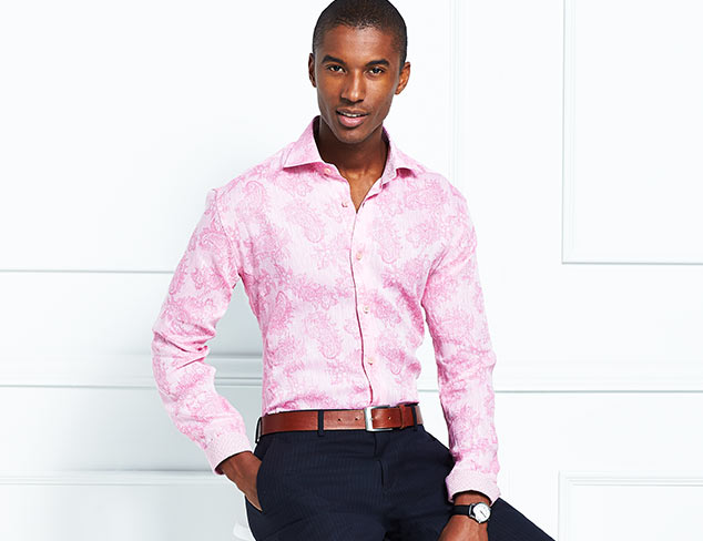 Bold Shirting Selections feat. Bertigo at MYHABIT