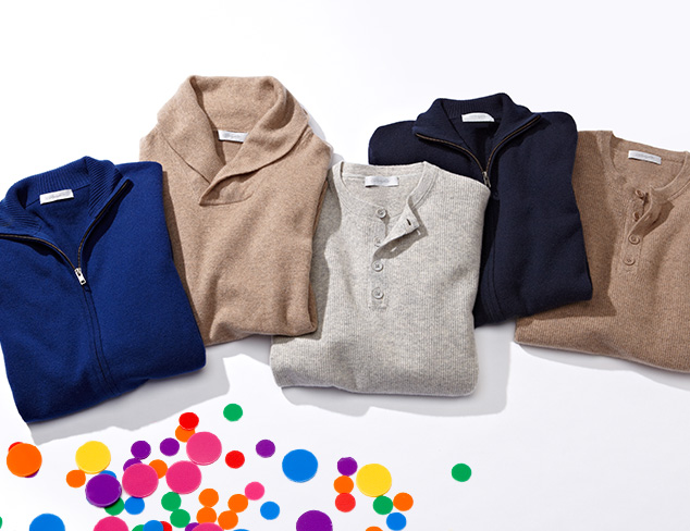 Christopher Fischer Cashmere Sweaters at MYHABIT
