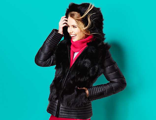 Fur-Trimmed Parkas & Puffers at MYHABIT