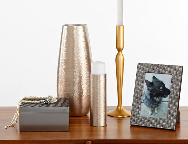 Gilded Pleasures: Accents & Décor at MYHABIT