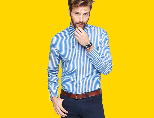 Ike Behar Dress Shirts, Trousers & More at MYHABIT
