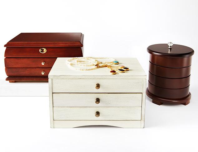 Jewelry Storage Solutions at MYHABIT