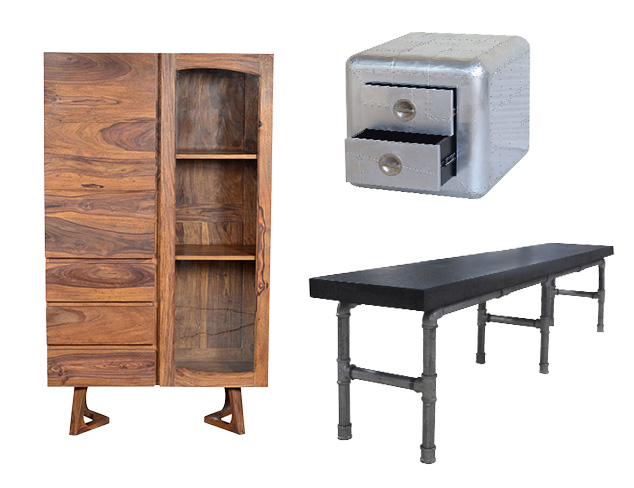 Last Look Home Shop: Industrial Furniture at MYHABIT